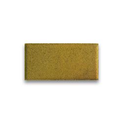 Тротуарная плитка «Кирпич» на белом цементе - желтая