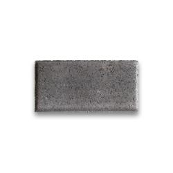 Тротуарная плитка «Кирпич» - серая
