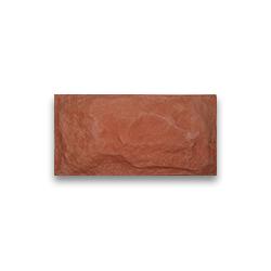 Плитка фасадная - красная